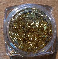 Фолга для дизайна золото