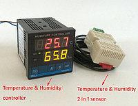 Термоконтроллер + влажность  AL3010F для инкубаторов