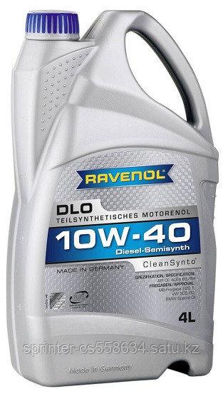 Моторное масло RAVENOL DIESEL DLO 10w40 4 литра