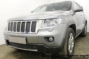 Защита радиатора Jeep Grand Cherokee IV (WK2) 2010-2013 black низ