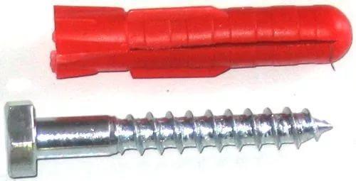 Шуруп-дюбель пластиковый 10х100 мм