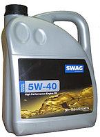 Моторное масло SWAG 5w40 5 литров