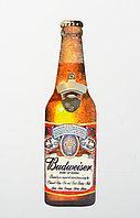 Декоративная табличка-открывашка, BUDWEISER, 40 см