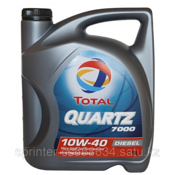 Моторное масло TOTAL 7000  Diesel 10w40 5 литров