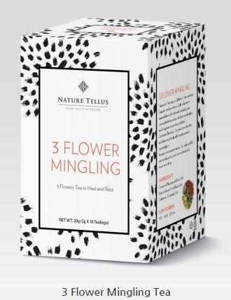 Чай восстанавливающий - 3 Flowers Mingling Tea