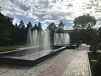 Строительство фонтана (Акимат, г. Капшагай)
