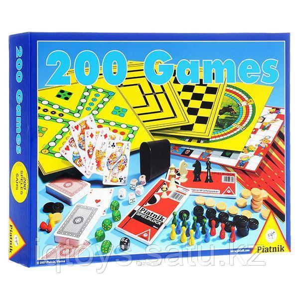 Набор настольных игр Piatnik 200 в 1 + шахматы