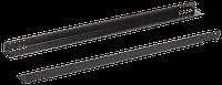ITK Направляющие уголки 400мм, черные (2 шт)