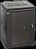ITK Шкаф настенный LINEA W 18U 600х450мм дверь стекло RAL 9005