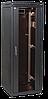 """ITK Шкаф сетевой 19"""" LINEA N 24U 600х1000 мм перфорированные двери черный"""