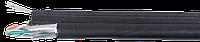 ITK Каб. F/UTP кат.5E 4х2х24AWG, LDPE трос 1,2мм, 305м чер.