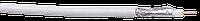 ITK Каб. коаксиальный RG6, 75 Ом, FPE, ПВХ, бел. (305м)