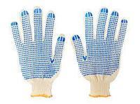 Перчатки х/б с ПВХ #300