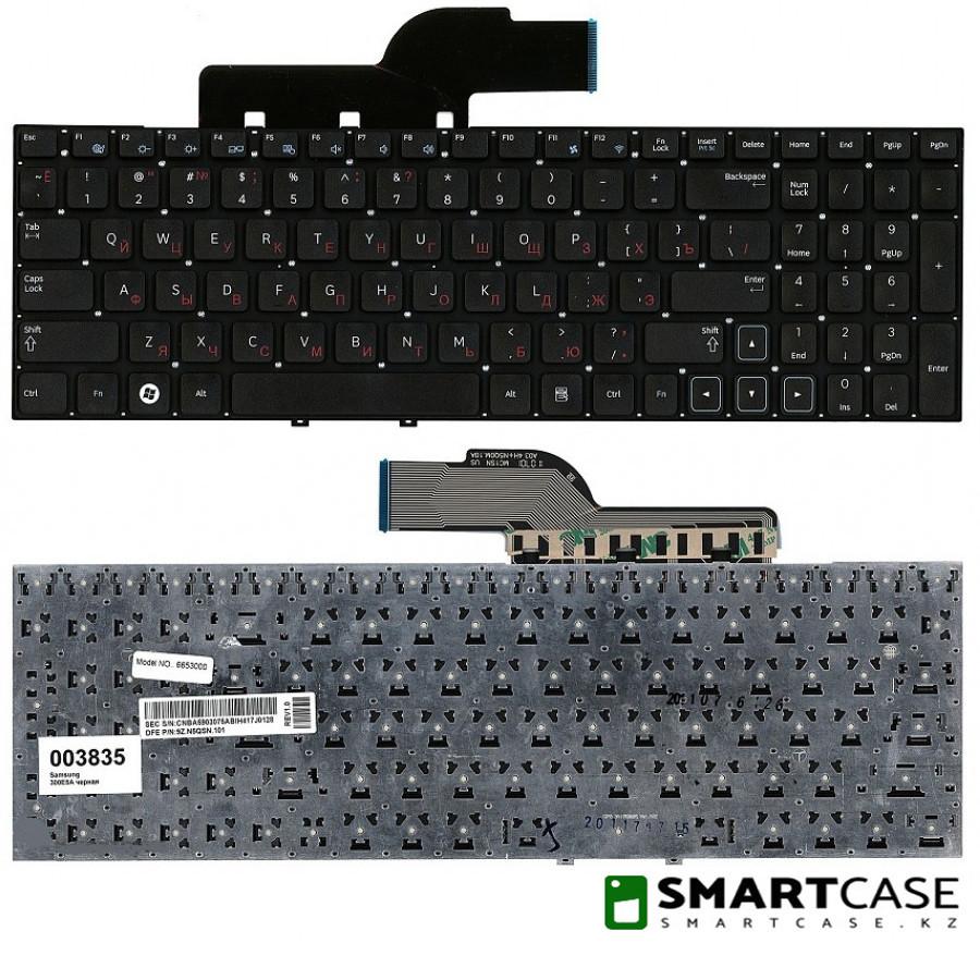 Клавиатура для ноутбука Samsung 300E5A (черная, RU)