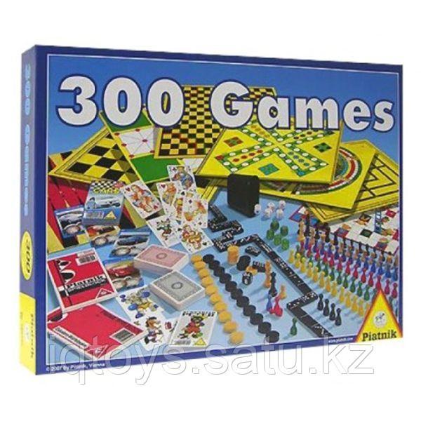 Набор настольных игр Piatnik 300 в 1 + шахматы