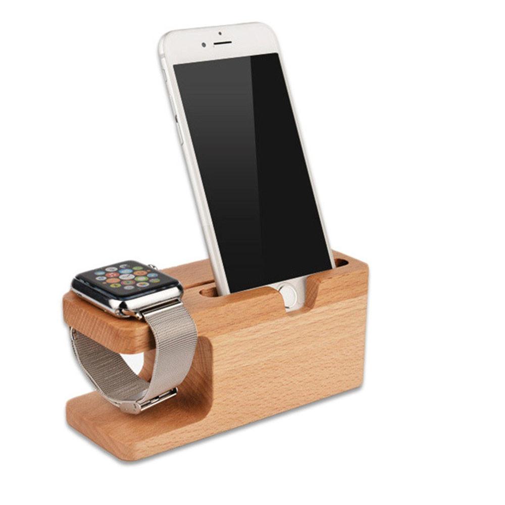 Подставка Док Станция Rosh для смартфона и часов Apple