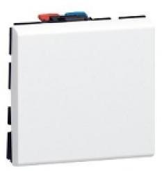 77010 - Выключатель 10а (2 Модуля)