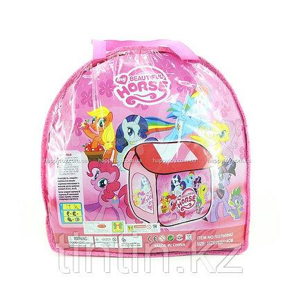 """Детская палатка домик """"Pony"""" 112х102х114см, SG7009MZ, фото 2"""