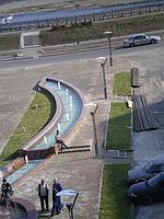 """Строительство фонтана  (ТРЦ """"City Plus"""", г. Талдыкорган)"""
