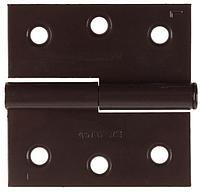 "Петля дверная STAYER ""MASTER"" разъемная, цвет коричневый, левая, 50мм"