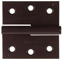 """Петля дверная STAYER """"MASTER"""" разъемная, цвет коричневый, правая, 65мм"""