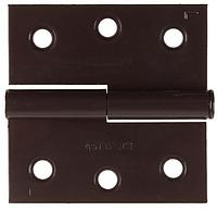 "Петля дверная STAYER ""MASTER"" разъемная, цвет коричневый, левая, 75мм"