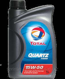 Моторное масло TOTAL 7000 15w50 1 литр