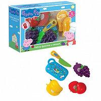 29888 Игровой набор фрукты и овощи «Свинка Пеппа» 5 предметов (разделены липучкой)