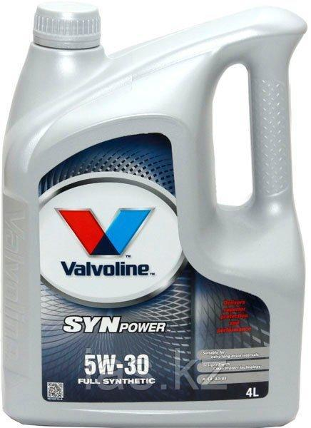 Моторное масло Valvoline SYNPOWER 5w30 4 литра