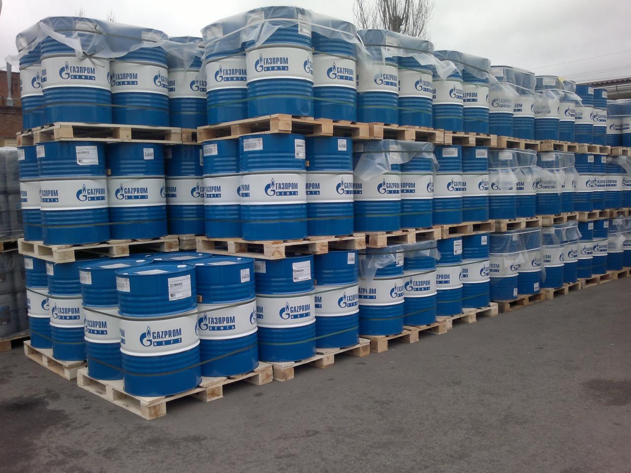 Масло Газпром GL-1 SAE-140 (НИГРОЛ) 205л. для коробок и мостов сельхоз техники и грузовых автомобилей