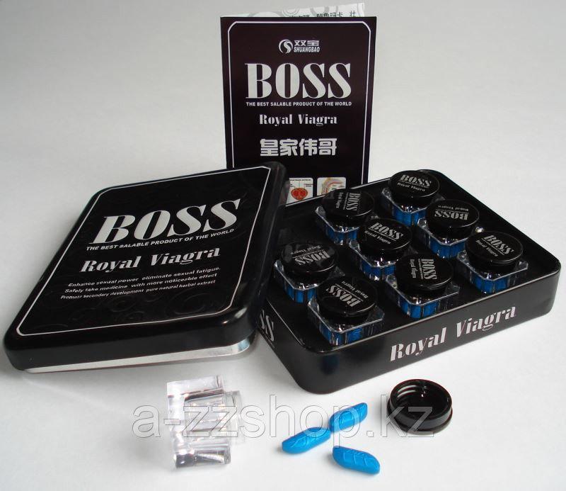 Boss Royal Viagra Королевская ( для повышения потенции)