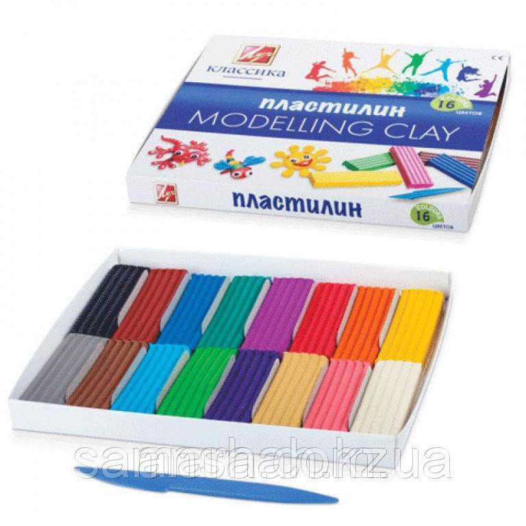 Пластилин Луч Россия   12 цветов