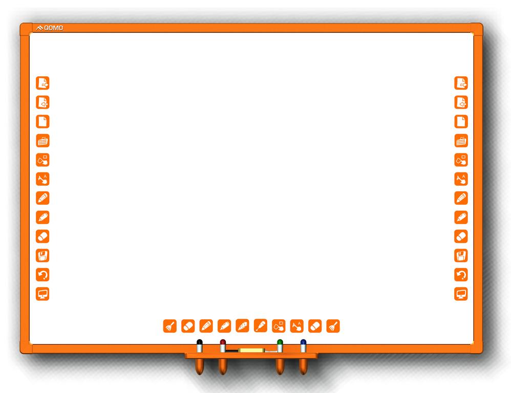 Детская интерактивная доска Qomo Whiteboard QWB870KZ