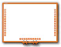 Детская интерактивная доска Qomo Whiteboard QWB870KZ, фото 1