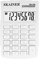 Калькулятор Skainer SK-108WH