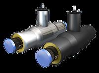 Кран стальной шаровой  ППУ изоляцией в ПЭ/ОЦ