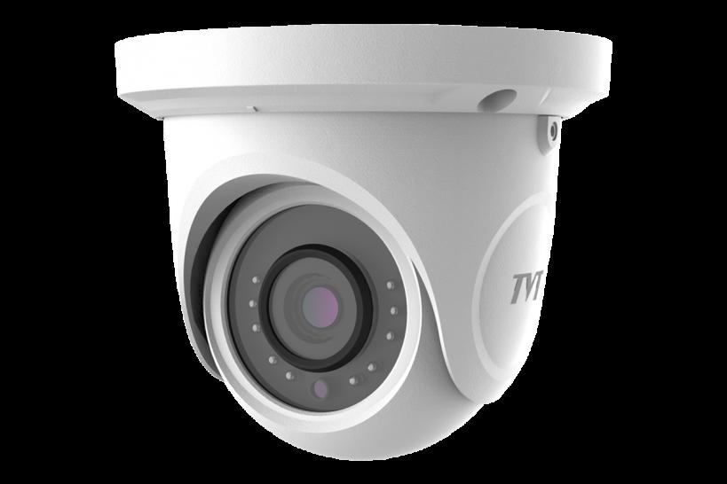 2Мп  IP-камера купольная с фиксированным объективом объективом TVT TD-9524S1
