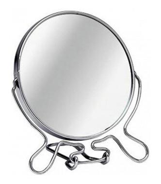 "Зеркало двустороннее 8"""