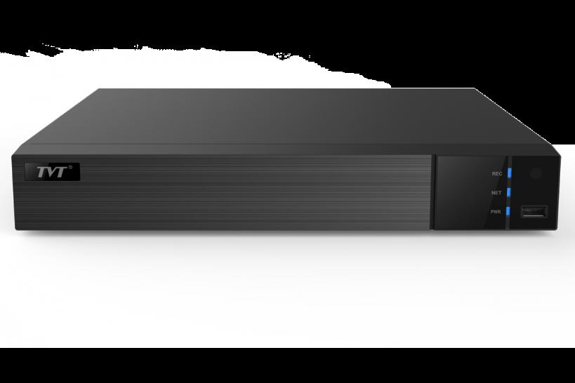 4 канальный IP/AHD видеорегистратор TVT TD-2704AS-P