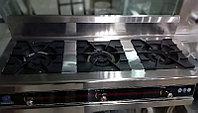 Газовая плита производственная 3 конфорочная