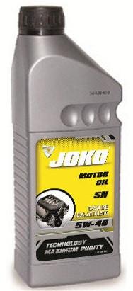 Моторное масло JOKO GASOLINE 5w40 1 литр