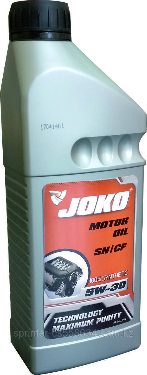 Моторное масло JOKO GASOLINE 5w30 1 литр