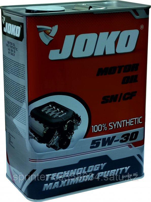 Моторное масло JOKO GASOLINE 5w30 4 литра