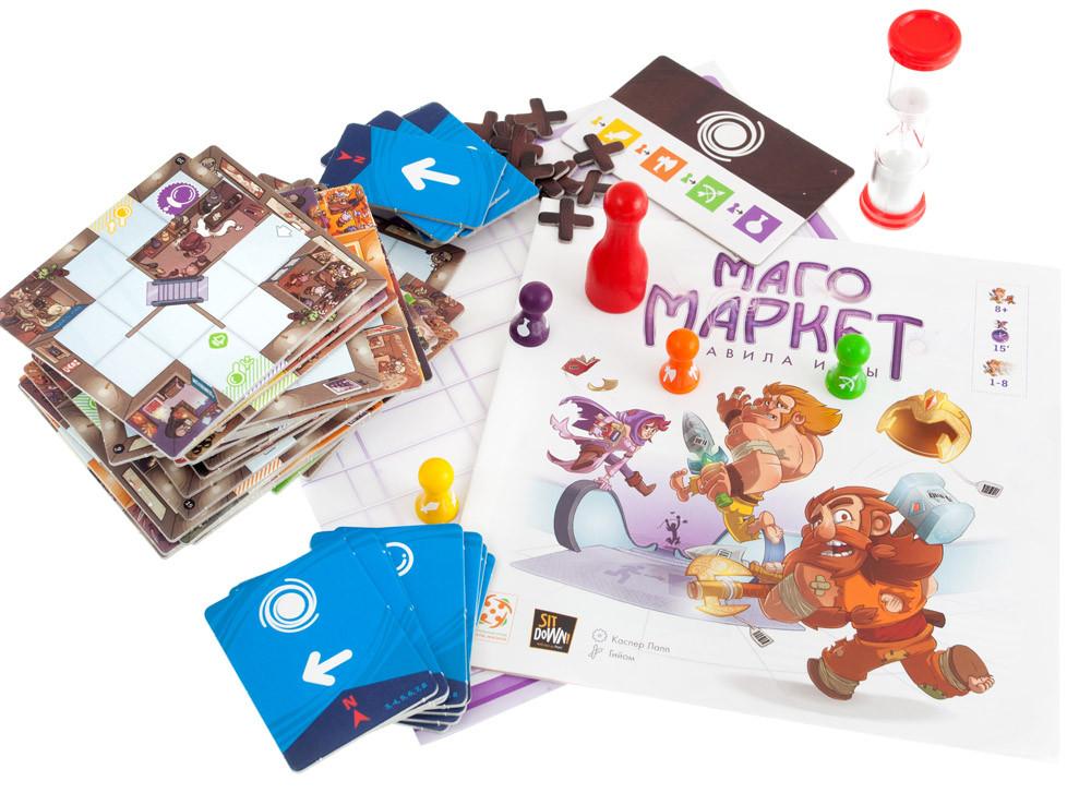 Настольная игра: МагоМаркет (MagicMaze) - фото 3