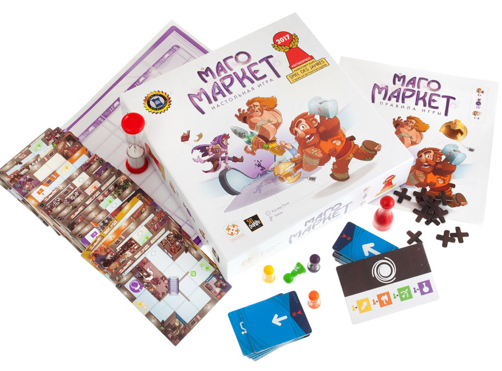 Настольная игра: МагоМаркет (MagicMaze) - фото 4