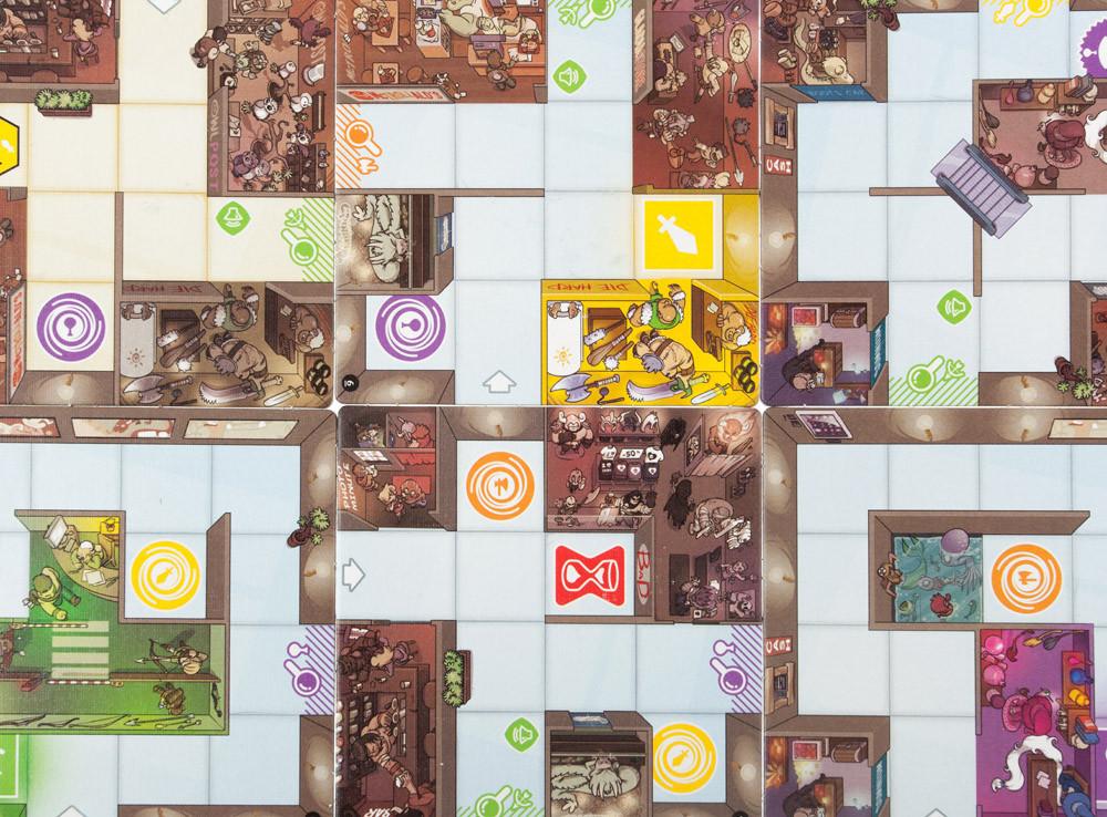 Настольная игра: МагоМаркет (MagicMaze) - фото 6