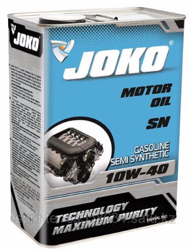Моторное масло JOKO GASOLINE 10w40 4 литра