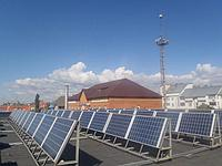 Сетевая солнечная электростанция для предприятий проект под ключ