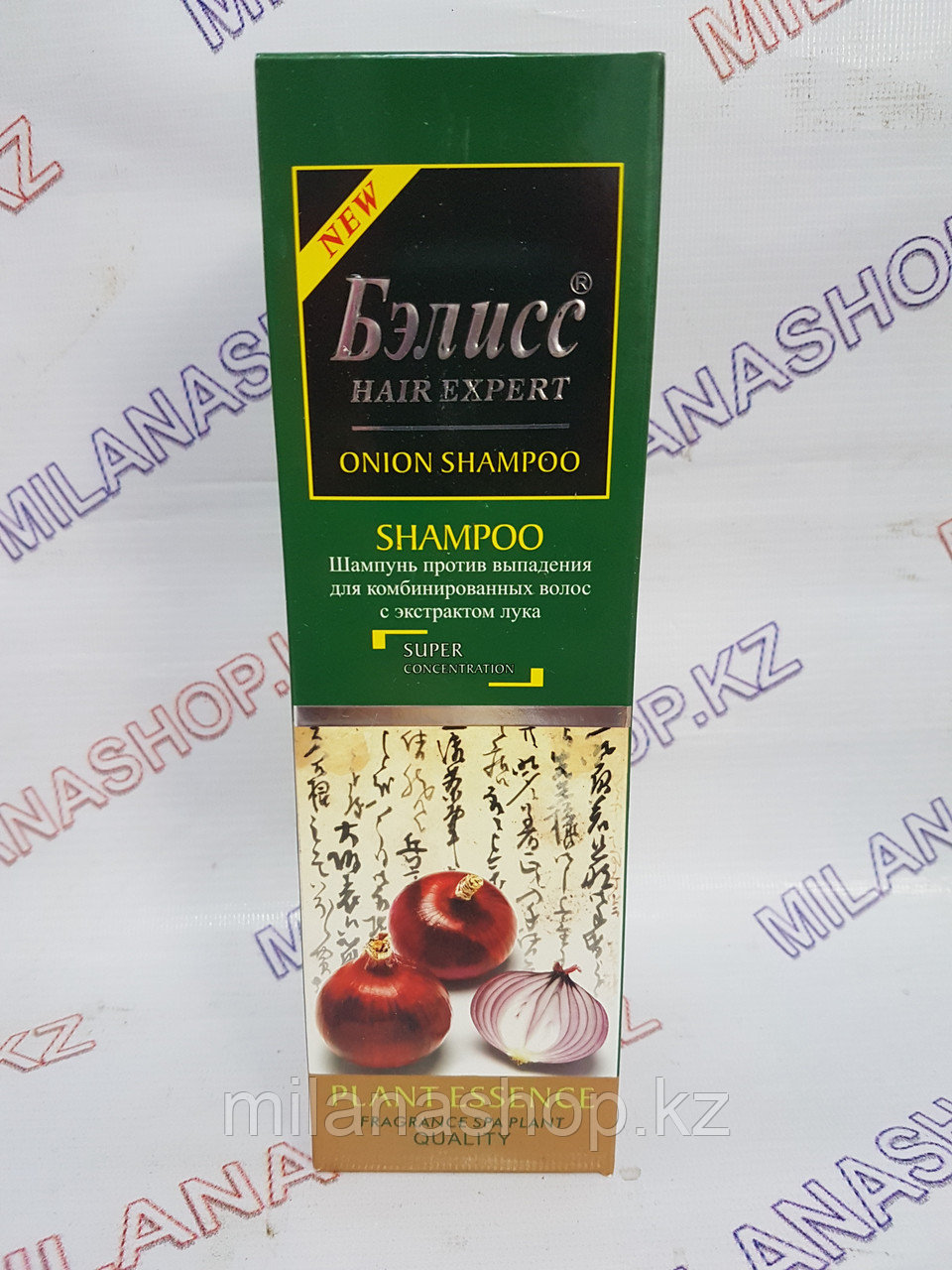 Бэлисс -  Шампунь против выпадения для комбинированных волос с экстрактом лука