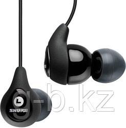 Наушники вкладыши Shure SE110 Sound Isolating Earphone with Balanced Armature Driver (чёрные)